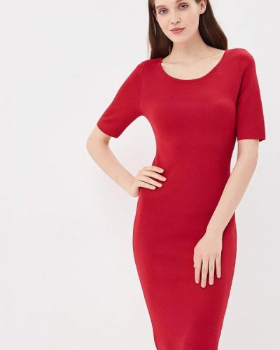 Платье бордовый красный Conso Wear