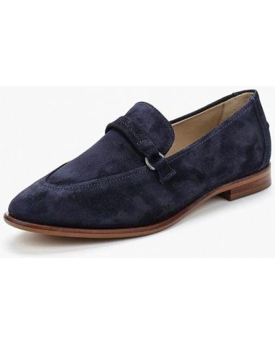 Синие замшевые туфли Marc O'polo