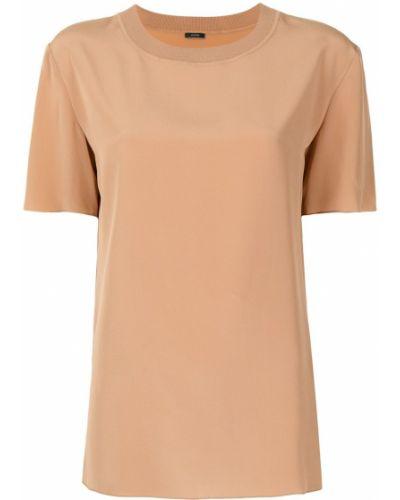 Оранжевая блузка с короткими рукавами Joseph