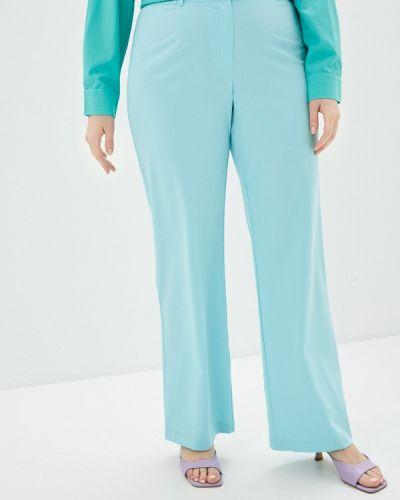 Бирюзовые прямые брюки Svesta