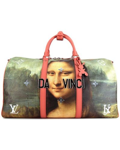 Torba podróżna, różowy Louis Vuitton