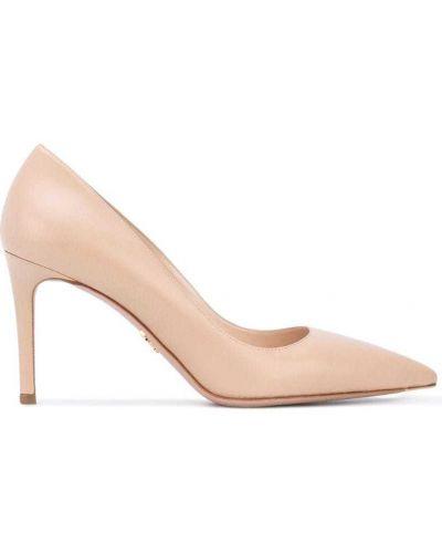 Классические туфли кожаные Prada