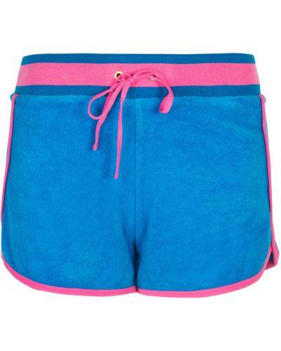 Niebieskie szorty do biegania Juicy Couture