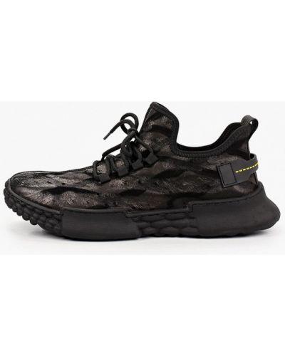 Черные кроссовки из нубука Sprincway