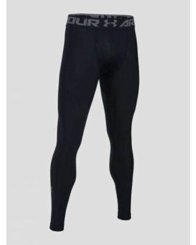 Czarne legginsy materiałowe Under Armour