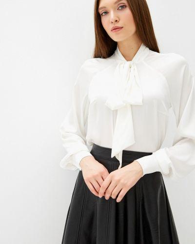 Блузка с длинным рукавом белая осенняя Anastasya Barsukova