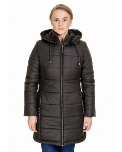 Утепленная черная куртка F'91
