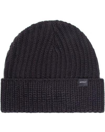 Czarna czapka Edwin