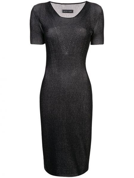 Облегающее платье миди - черное Narciso Rodriguez