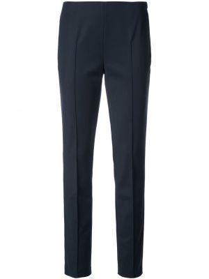 Niebieskie spodnie bawełniane Akris