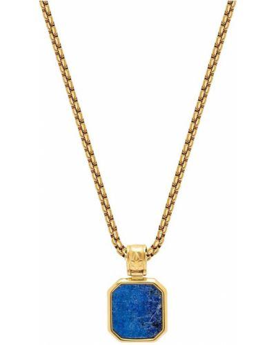Niebieski naszyjnik elegancki Nialaya