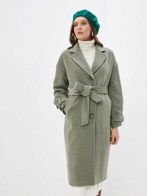 Зеленое демисезонное пальто Shartrez