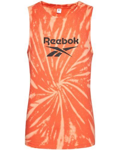 Pomarańczowy top Reebok Classic