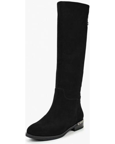 Ботинки на каблуке осенние черные Provocante