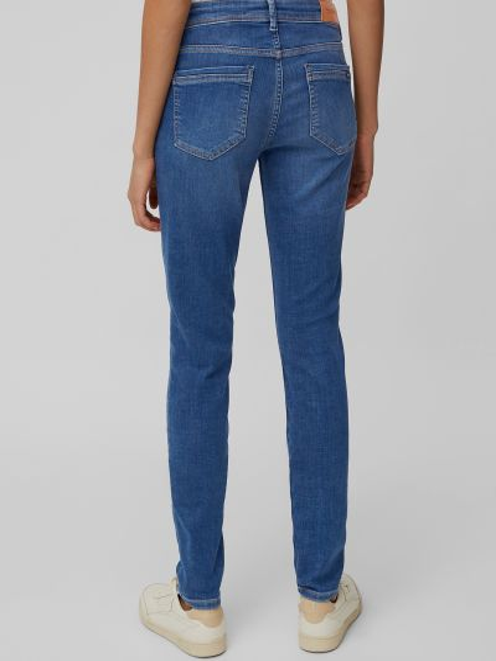 Синие джинсы с карманами на молнии Marc O'polo Denim