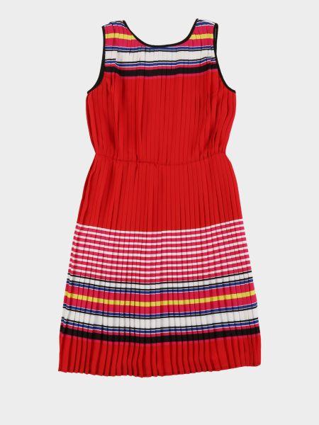 Платье свободного кроя без рукавов из вискозы Karl Lagerfeld