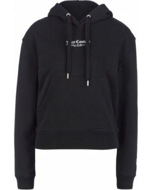 Толстовка с капюшоном черная Juicy By Juicy Couture
