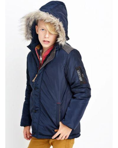 Куртка теплая синий Nativo