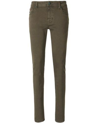 Zielone mom jeans Tramarossa