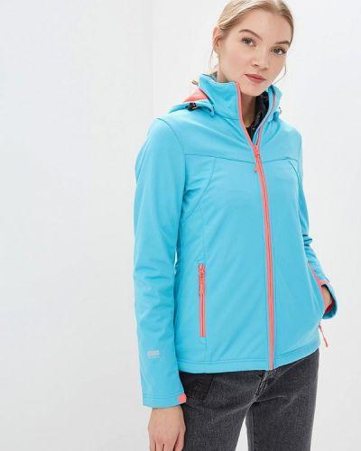 Спортивная куртка весенняя голубой Icepeak