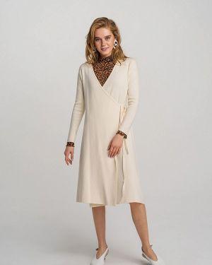 Платье с запахом осеннее Befree