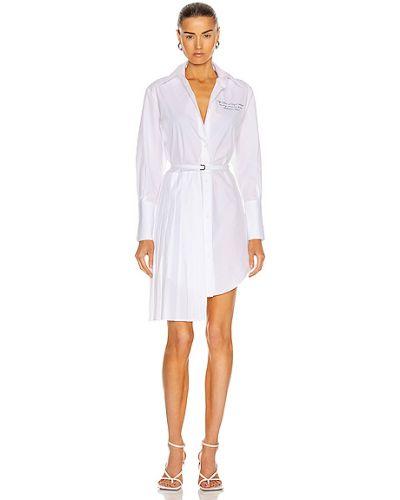 Платье рубашка - белое Off-white