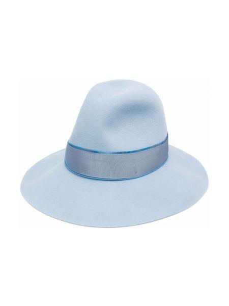 Niebieska czapka Borsalino