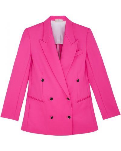 Шерстяной пиджак - розовый Edun