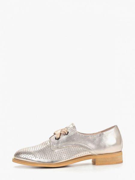Кожаные ботинки кожаные на каблуке Berkonty
