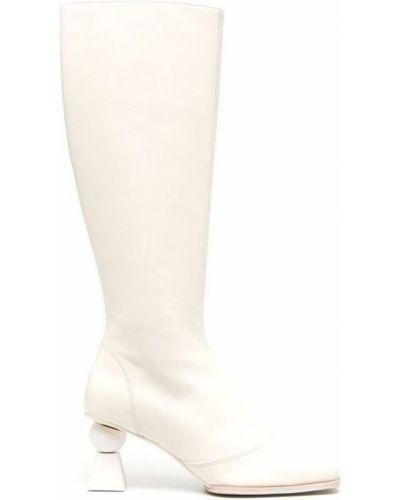 Białe półbuty Jacquemus