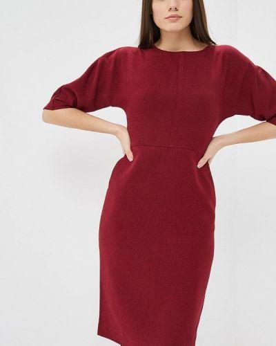 Платье бордовый красный Warehouse