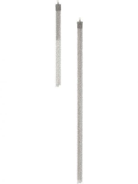 Асимметричные серебряные серьги Fabiana Filippi