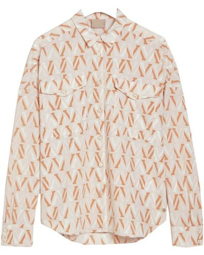 Bluza z printem zapinane na guziki Josh V