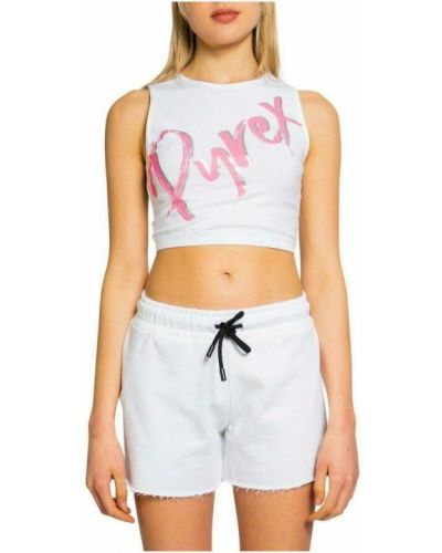 Biała koszulka Pyrex