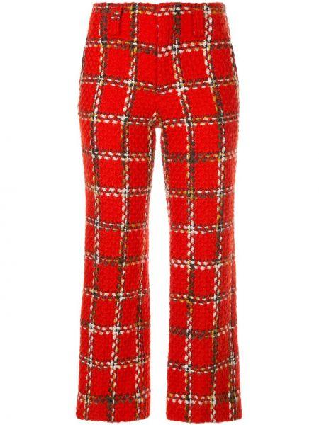 Расклешенные укороченные брюки винтажные с воротником с поясом Junya Watanabe Comme Des Garçons Pre-owned