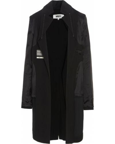 Płaszcz - czarny Mm6 Maison Margiela