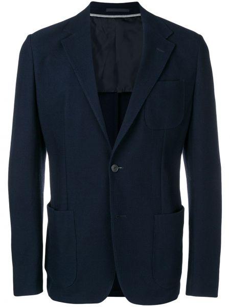 Пиджак с карманами однобортный Z Zegna
