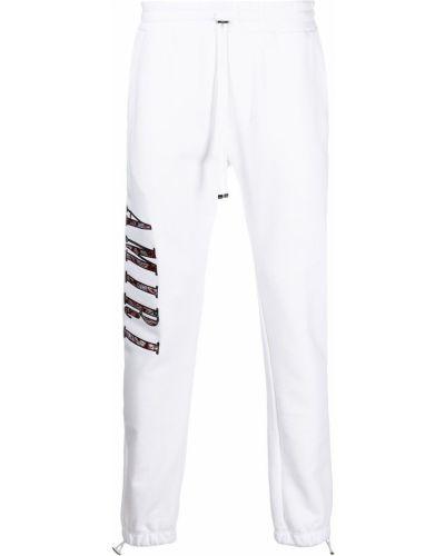Белые брюки с принтом Amiri