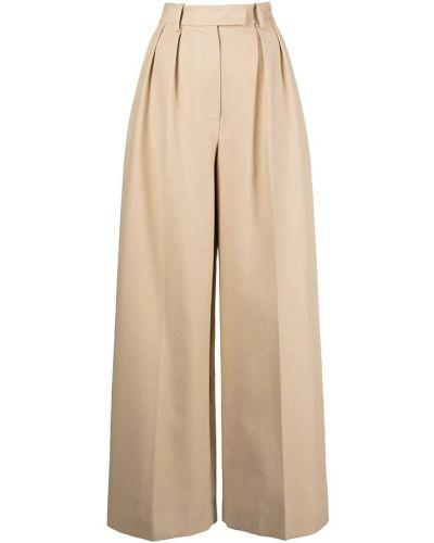 Beżowe spodnie Khaite