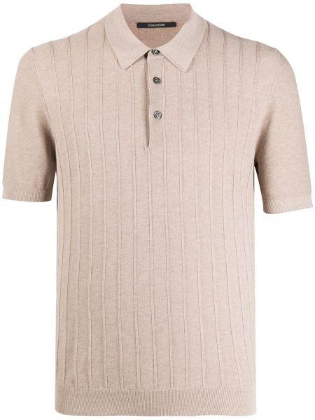 Koszula krótkie z krótkim rękawem klasyczna z kołnierzem Tagliatore