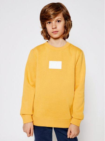 Żółty dres Calvin Klein Jeans