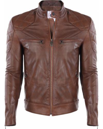 Кожаная куртка - коричневая Felix Hardy