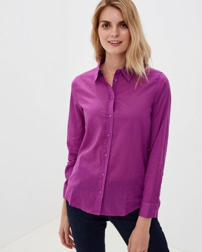 Рубашка с длинным рукавом фиолетовый индийский United Colors Of Benetton