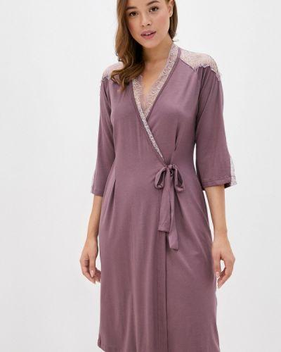 Фиолетовый домашний халат Belarusachka