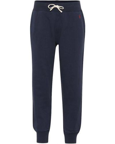 Спортивные брюки синие Polo Ralph Lauren