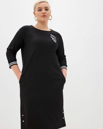 Черное платье осеннее Intikoma