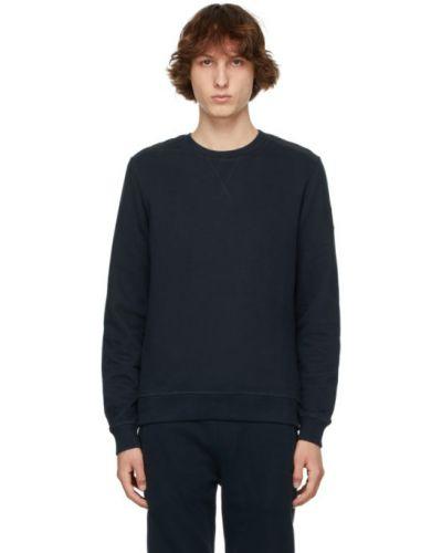 Satynowa bluza długa z długimi rękawami pikowana Belstaff