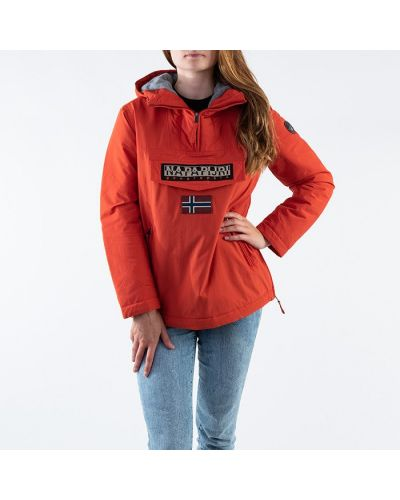 Оранжевая куртка с карманами Napapijri