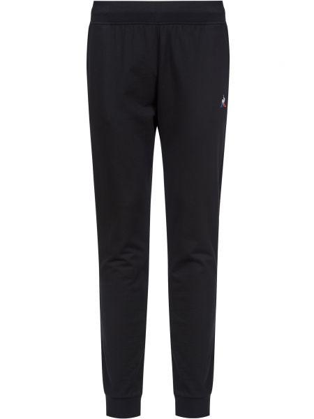 Хлопковые спортивные брюки - черные Le Coq Sportif