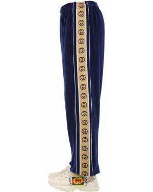 Спортивные брюки с карманами с поясом Gucci